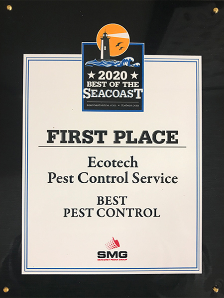 Best Pest Control - Best of the Seacoast 2020